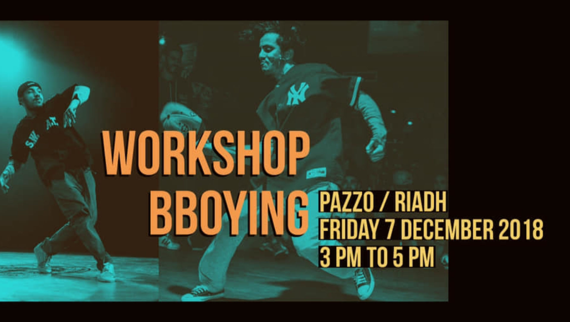 WORKSHOP BBOYING WITH RIADH & PAZZO