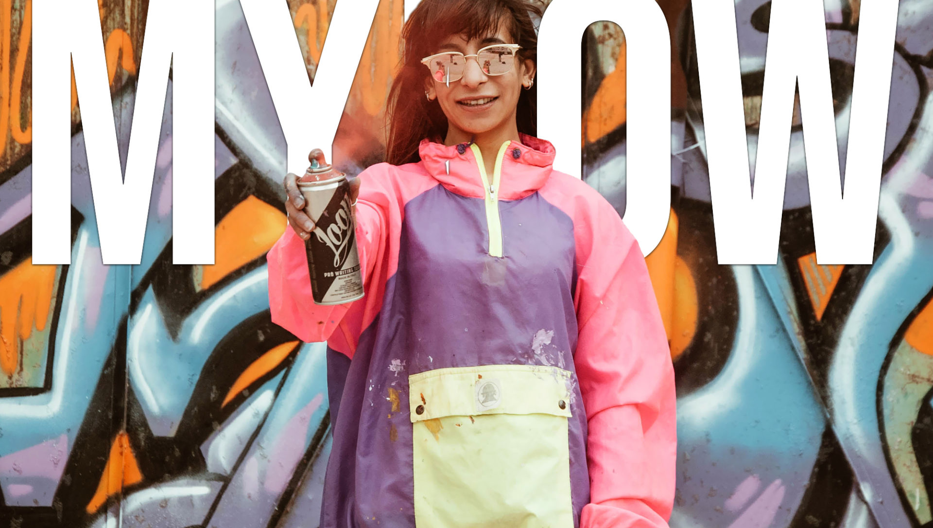 Amel Neffati aka MYLOW: The First Female Graffiti Artist in Tunisia