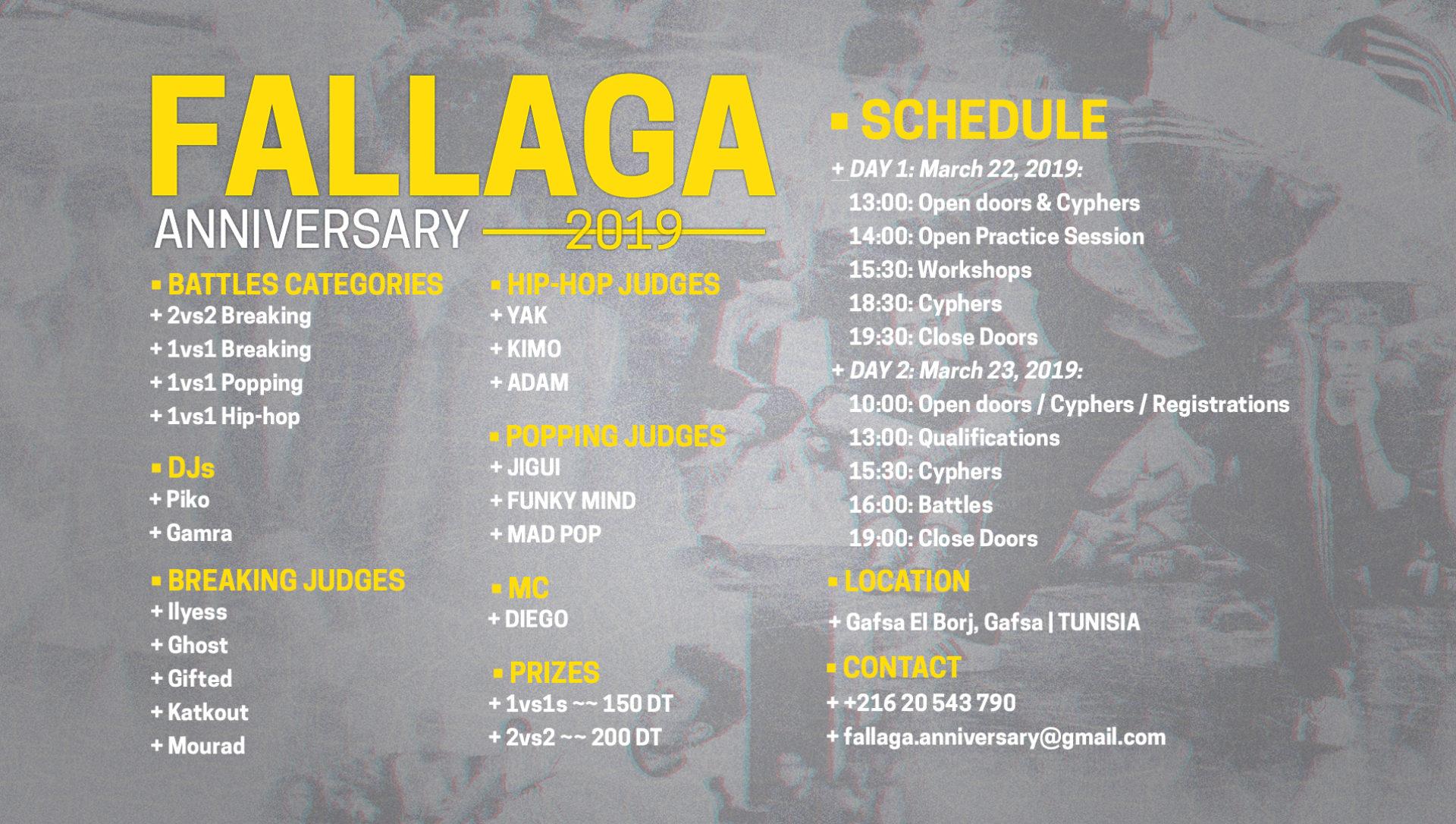 Fallaga Anniversary 2019