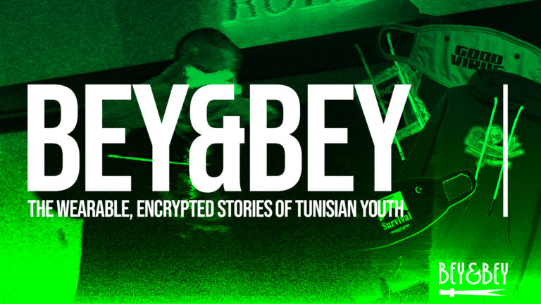 Bey&Bey: The Wearable, Encrypted Stories of Tunisian Youth
