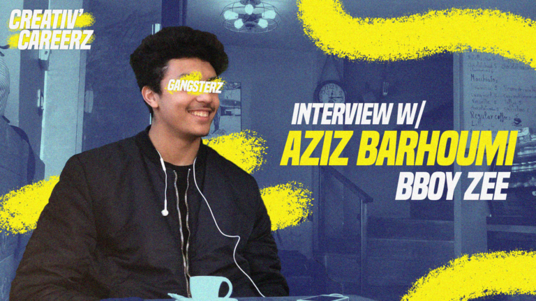 Creativ'Careerz: Meet Aziz Barhoumi aka Bboy ZEE